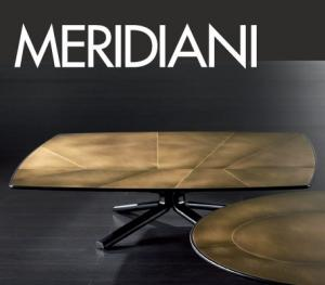 Новая отделка MERIDIANI. Изысканность латуни