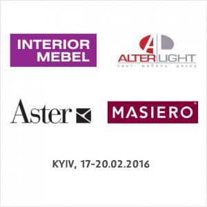 Alter Light на выставке Interior Mebel 2016 (ФОТО)
