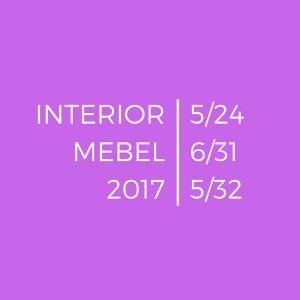 ALTER LIGHT на INTERIOR MEBEL 2017. Предисловие